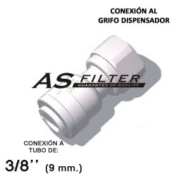 ADAPTADOR C.RAPIDA 3/8 X ESPECIAL 7/16