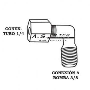 CODO C.ROSCA1/4 X ROSCA3/8