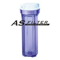 """FILTER HOUSING 10"""" CLEAR FOR RO EC ASFILTER"""