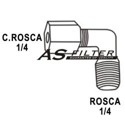 CODO C.ROSCA1/4 X ROSCA1/4