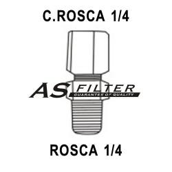 RECTO C.ROSCA1/4 X ROSCA1/4
