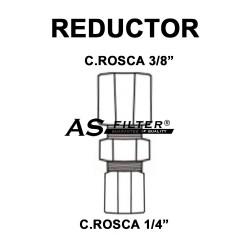 "UNION REDUCTOR C.ROSCA 3/8"" X C.ROSCA 1/4"""