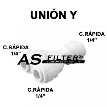 "UNION Y C.RAPIDA 1/4"""