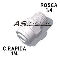 RECTO C.RAPIDA1/4 X ROSCA1/4