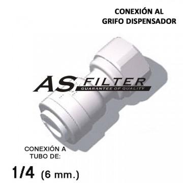 ADAPTADOR C.RAPIDA 1/4 X ESPECIAL 7/16