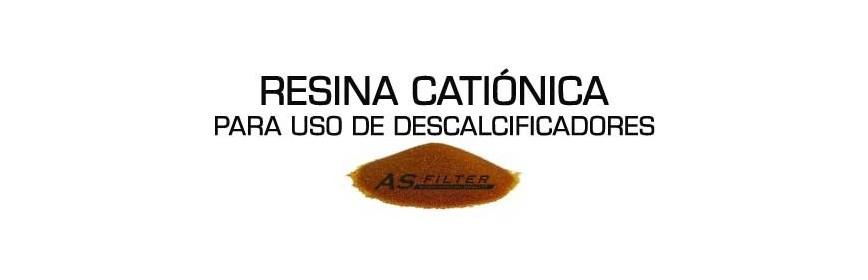Resina Catiónica